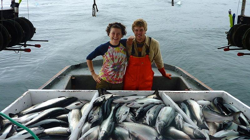 Dia de pesca de Salmão Selvagem, Alaska